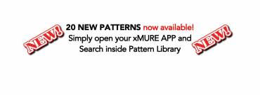 20 NEW PATTERNS for XMURE Arranger APP